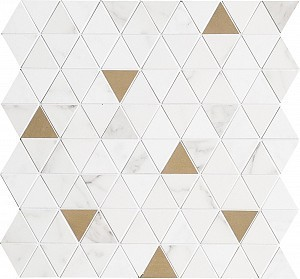 Декор Allmarble Wall Statuario Mosaico Rria Satin 40x43