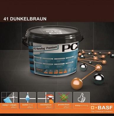 Фугираща смес Nanofug Premium - 41 Dunkelbraun  5кг