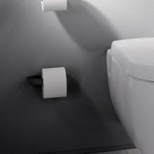 Държач за тоалетна хартия LOFT - черен мат