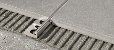 PTAC 08 PROTERMINAL ъглов завършващ профил от полирана стомана 8 мм