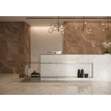 Стенни плочки Allmarble Wall Pulpis Struttura Pave 3D Lux 40x120