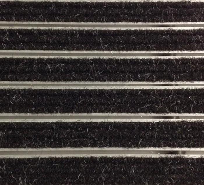 HH 01 входна изтривалка 22 мм, черен мокет, размер 100х50 см за вграждане