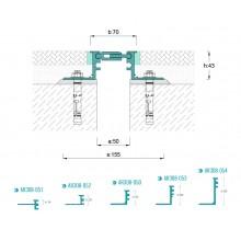 ARFEN AR 308-050 профил за дилатационни фуги за под