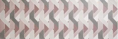 Декор Eclettica Etoile White/Cream/Purple/Rose/Anthracite 40x120