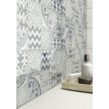 Плочки за баня Pottery Light/Turquoise 25x76