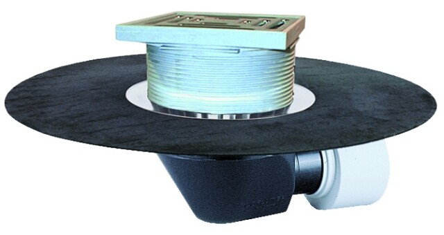 Воронка за плоски покриви и тераси с битумен маншет HL64BH