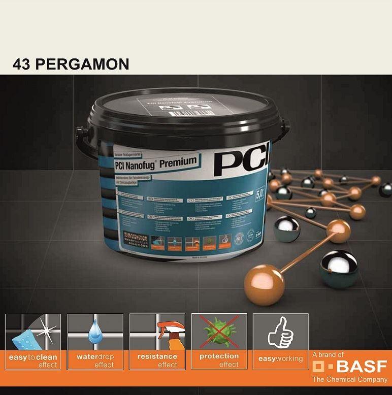 Фугираща смес Nanofug Premium - 43 Pergamon  5кг