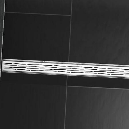Линеен сифон с решетка ORGANIC - 1000mm