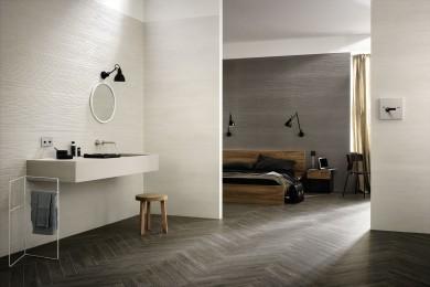 Плочки за баня Materika Off White 40x120