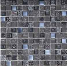 Стъклокерамична мозайка Imperium Graphite