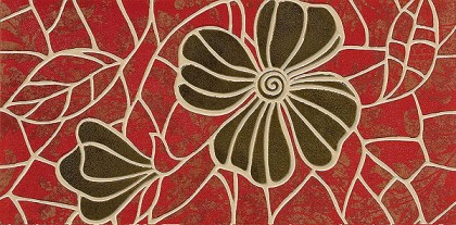 Фриз Red Petal 15x30
