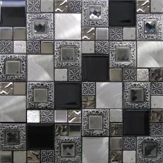 Стъклокерамична мозайка EXCLUSIVE Frame Silver