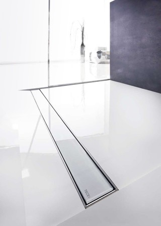 Линеен сифон с решетка GLASS - 800mm