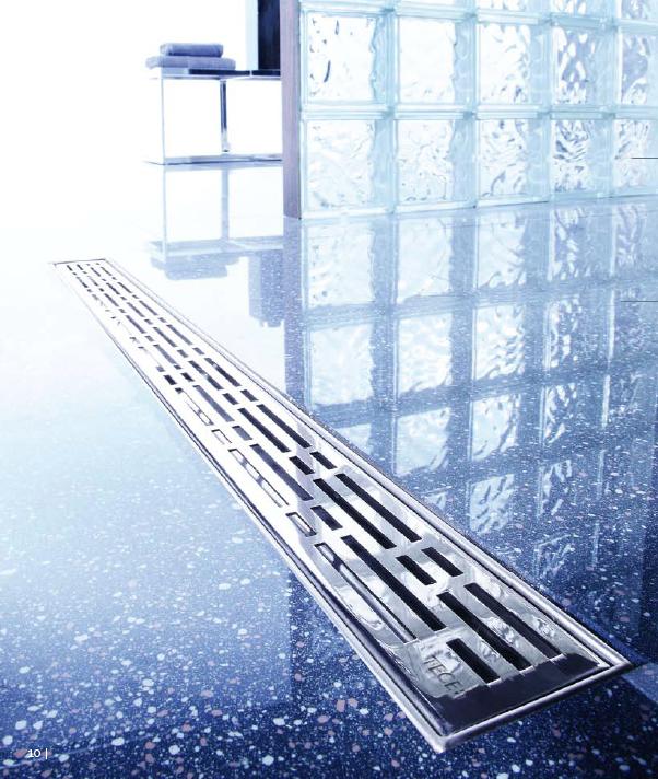 Линеен сифон с решетка BASIC - 700mm