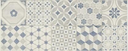 Стенни плочки Paint Decoro Blanco/Grigio/Blu 20x50