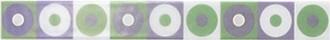 Фриз Circles Menta 4x33