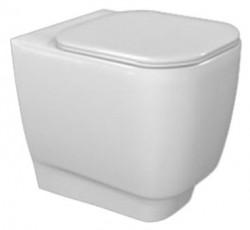 Стояща тоалетна чиния HATRIA FUSION Q с капак плавно затваряне 48x35