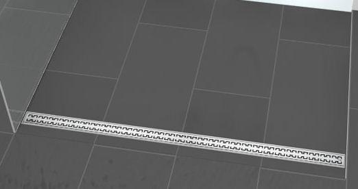 Линеен сифон с решетка ROYAL - 900mm