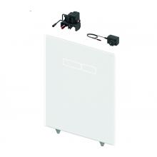 Структура за вграждане и панел TECE LUX White glass