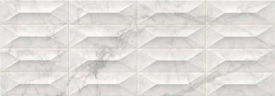 Стенни плочки Marbleplay Statuarietto Struttura Gem 3D 30x90