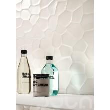 Стенни плочки Color Code Bianco Struttura Deco 3D 30x60