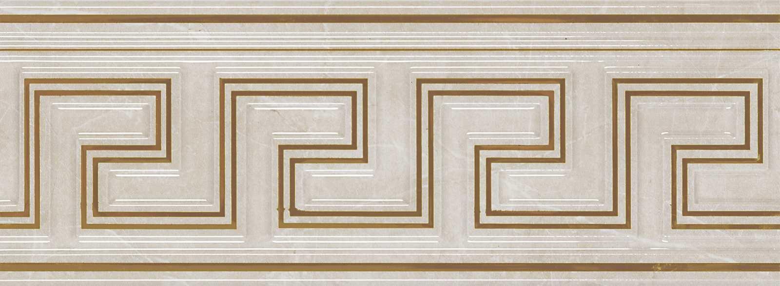 Декор Golden Cream Listello 12x32,5