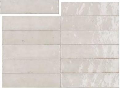 Гранитогрес Lume White Lux 6x24