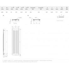 Лира за баня AERO V - цвят Graphite