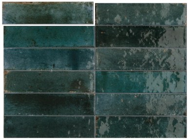 Гранитогрес Lume Blue Lux 6x24