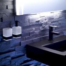 Черни аксесоари за баня: окачена чашка LOFT - черен мат