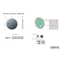 Огледало ONYX 70 с LED осветление и нагревател