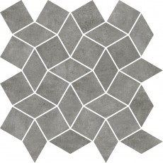 Гранитогресна мозайка Industrial Color chic Smoke diamond 30x30