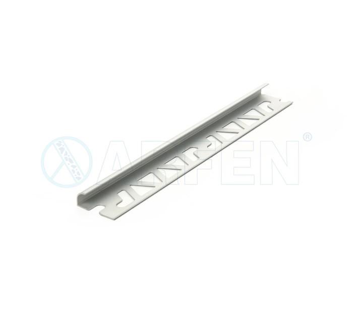 SB0201 BORD 9,5 мм, алуминиев ъглов завършващ профил