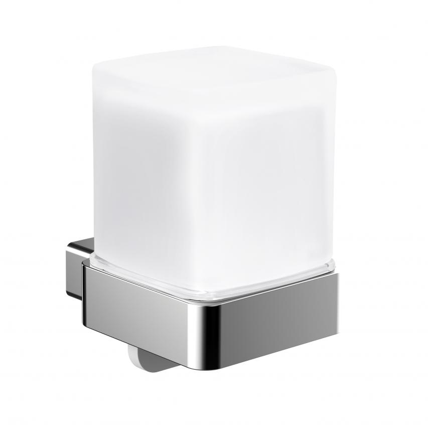 Аксесоари за баня хром: окачен дозатор за течен сапун с долно откапване LOFT - хром