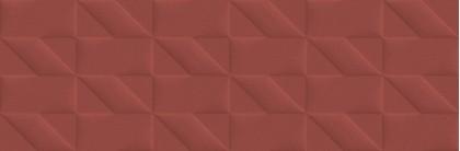 Стенни плочки Outfit Red Struttura Tetris 3D 25x76