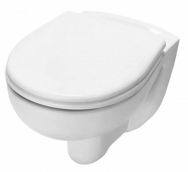Окачена тоалетна чиния с капак плавно затваряне TECE
