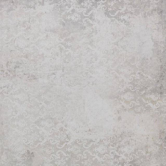 Гранитогрес Grunge White decor 60x60