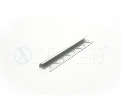 SB012 BORD 12,5 мм, алуминиев ъглов завършващ профил