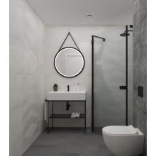 Декор за баня Kent Ebony Nieve decor 25х75