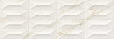 Стенни плочки Marbleplay Ivory Struttura Gem 3D 30x90