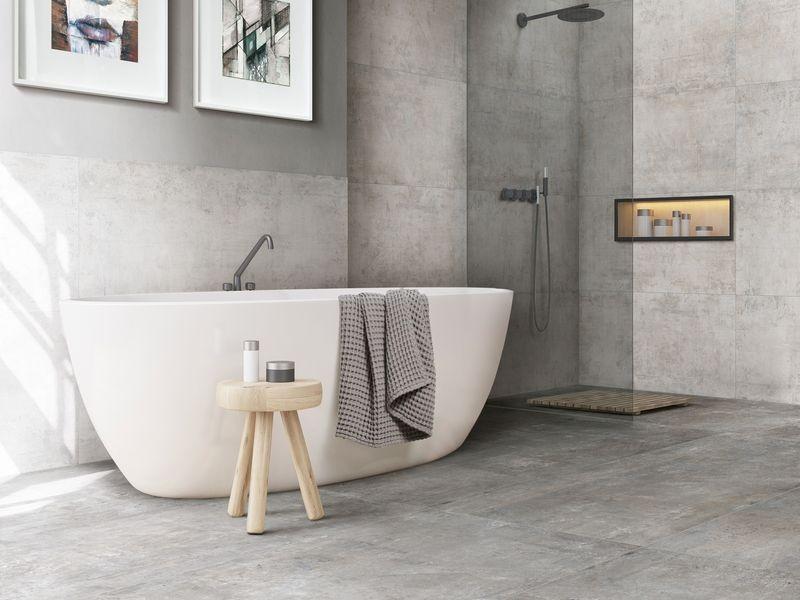 Гранитогрес - здрав и устойчив, отличен за банята за дълги години.
