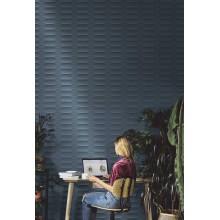Стенни плочки Colorplay Blue Strutturata Cabochon 3D 30x90