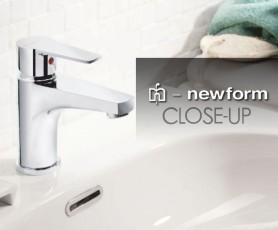 Смесител за мивка Close-UP - NEWFORM