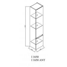 Окачен шкаф 80см с интегрирана мивка IMAN OUI80WH