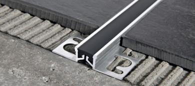 PROGRESS PFXAL.. алуминиев дилатационен профил с гума