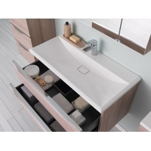 Окачен шкаф 70см с интегрирана мивка TARA OUT70