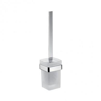 Аксесоари за баня хром: окачена четка за тоалетна чиния LOFT - хром
