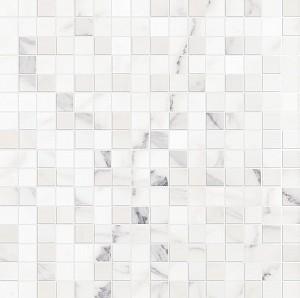 Декор Allmarble Wall Statuario Mosaico Lux 40x40