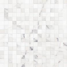 Декор Allmarble wall statuario lux mosaico 40x40
