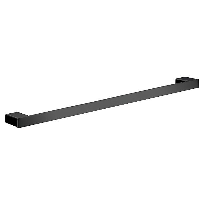Черни аксесоари за баня: държач за кърпи 64,2см LOFT - черен мат